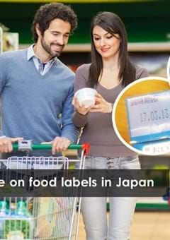 Reading food expiration dates in Japan