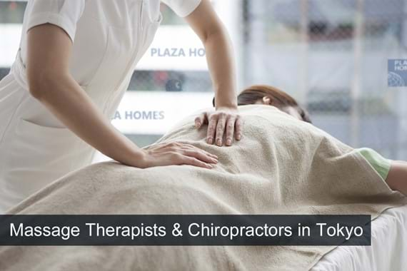 English-Friendly Massage Therapists & Chiropractors in Tokyo