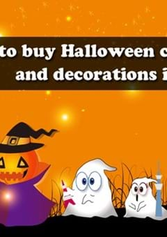 Where to buy Halloween costumes and decorations in Tokyo