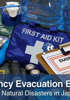 Emergency Evacuation Bag for Natural Disasters in Japan