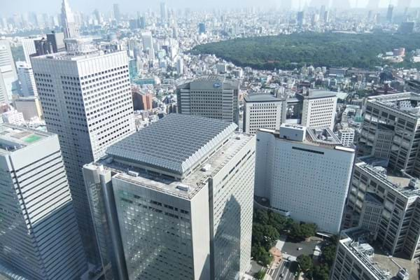 東京都庁展望台からの眺望 View from Tokyo Metropolitan Government Building.jpg