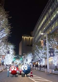Christmas in Roppongi: Six Christmas Illuminations in the Roppongi Hills Area