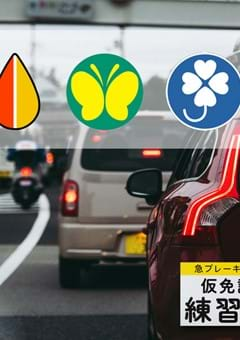 Driving Stickers in Japan