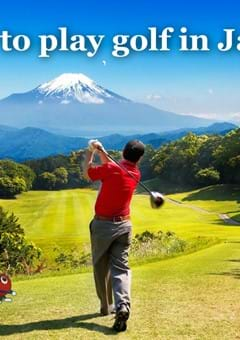 How to play golf in Japan