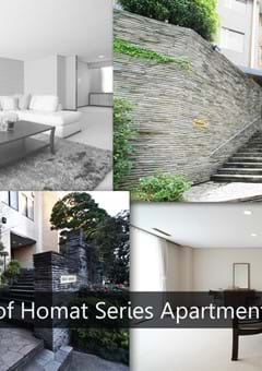 The Quality of Homat Series Apartments in Tokyo